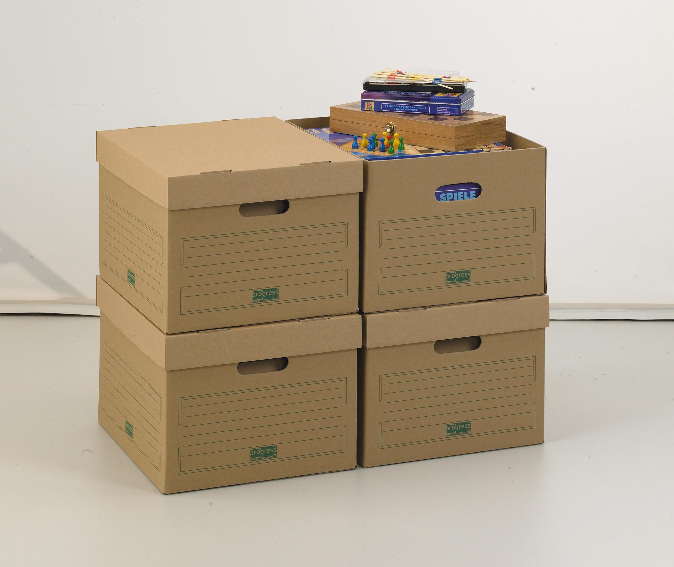 Archief opslag doos met deksel for Verhuisdozen action